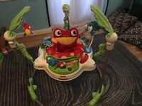 Jumperoo king fisher rain forest