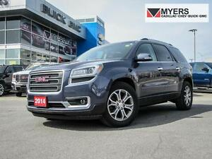 "2014 GMC Acadia SLT1,AWD, LEATHER, 19"" WHEELS, BOSE"