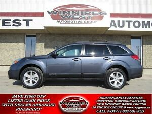 2014 Subaru Outback 2.5i TOURING PACKAGE 4X4, BLUETOOTH, 1 OWNER