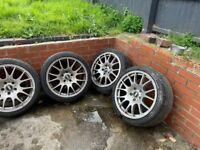 BMW 18ins BBS alloy wheels