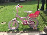 Apollo Cupcake Kids Push Bike Pink