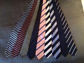 Men's ties, Hackett/AustinReed/TMLewin/CharlesTyrwhitt/HawesandCurtis