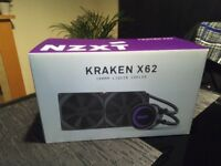NZXT Kraken X62 280mm AIO CPU Watercooler Intel/AMD RGB