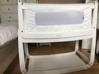 White SnuzPod 3 - Co-sleep Crib - Excellent Condition