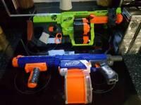 Too big Nerf guns