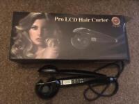LCD hair curlers