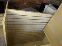 Shop Fitting - Retail Racking - H Stand - Maple for sale £120 ONO