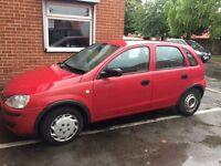 Vauxhall Corsa 1.3 cdti 55 Reg 12 Months MOT