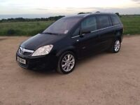 2008 VAUXHALL ZAFIRA 1.9 CDTi ELITE 5 DOOR ESTATE MANUAL DIESEL, 69K, F/S/H