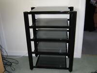 Glass Shelf rack for 5 piece separates system