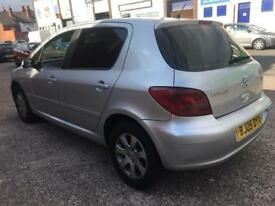 PEUGEOT 307 1.4 s 2005 LONG MOT DRIVES GOOD CHEAP MAINTENANCE 2005