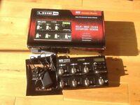 Line 6 M9 multi effects guitar pedal board