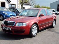 2006 skoda superb tdi only 80000 miles, motd august 2017, 1 owner from new