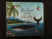 The snail & the whale - hardback book