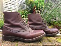 ITSHIDE Mens Leather Field Boot Size 9