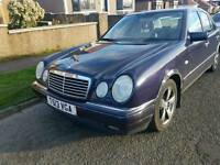 Mercedes E320 12 mot tow bar Automatic