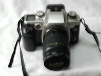 Canon EOS50e, 35mm SLR Camera, With 28 - 80mm 3.5 - 5.6 Ultrasonic Zoom Lens.