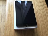 APPLE IPAD MINI 3 WIFI AND 4G EXCELLENT CONDITION BOXED WITH CHARGER