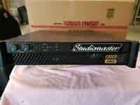 Studiomaster power amplifier