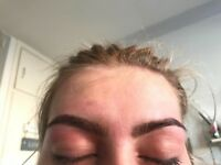Semi-permanent eyebrows by Hannah