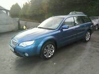 08 Subaru Outback Gas/Petrol Estate all leather trim very nice car ( can be viewed inside anytime)