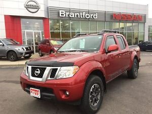 2015 Nissan Frontier PRO-4X LEATHER NVIGATION