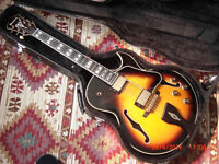 IBANEZ LGB30 - VYS GEORGE BENSON ARCHTOP JAZZ GUITAR MINT CONDITION