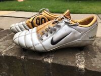 Nike total 90111 gold football boots. UK size 8