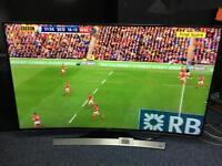 """55"""" SAMSUNG UHD 4k smart curved led tv"""
