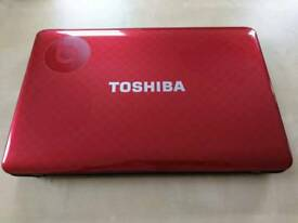 "Toshiba Satellite L750-201 2.53GHz i3-380M 15.6"" 1366 x 768pixels Black, Red"