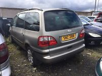 2003 1.9 Diesel Ford Galaxy. Breaking for parts only, Postage Nationwide