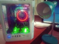 RYZEN 7 1700 i7 KILLER NVME SSD EVGA KINGSTON HYPER X RADEON GAMING 4K VIDEO EDIT DESKTOP CUSTOM PC