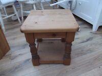 Antique pine furniture.