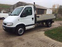 2004 vauxhall movano 2.2 tipper truck 119k long mot