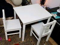 Kids white furniture