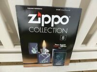 ZIPPO LIGHTER on MAGAZINE Issue No; 8 (Collectors)