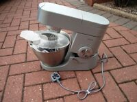 Kenwood Chef Premier KMC5XX food mixer with accessories