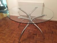 Bo Concept Glass Dining Table