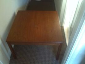 Very solid wood coffee table must go!