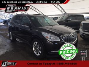 2013 Buick Enclave Premium AWD, NAVIGATION, HTD/CLD/LTHR SEAT...