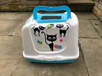 Large Cat litter toilet virtually new