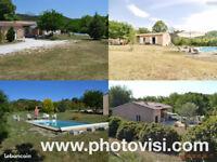 Villa au calme avec piscine Terrain 4000 M