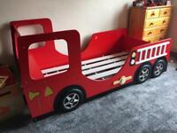 Fire Engine Kids Bed
