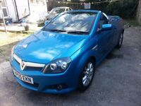 2005 vauxhall tigra sport twinport 1.8cc manual petrol convertable coupe,2 door hatchback,excel cond