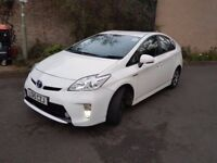 TOYOTA PRIUS 2015 MODEL VERY NICE CLEAN CAR ONE COMPANY OWNER FROM NEW UK MODEL CAR MILES WARRANTED