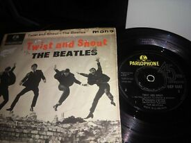 BEATLES TWIST AND SHOUT 1963