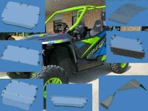 Arctic Cat Wildcat Trail, Wildcat Sport Windshield, Back Window Dust Panel, Roof, Fender Extensions