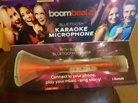 Boom beat Bluetooth karaoke microphone