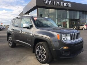 2016 Jeep Renegade Limited LEATHER - BLUETOOTH - WARRANTY