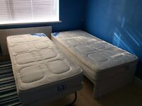 Single Bed & Guest Bed Combo (Mattresses included)